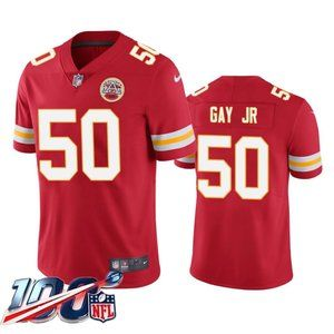 Kansas City Chiefs Willie Gay Jr. Red Jersey